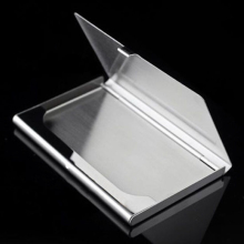 Business Card Holder Stainless Steel Card Wallet ID Credit Card Holder Waterproof