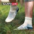 NEW SANTO 3pair/lot Men's High-tech Merino Wool Socks Sports Camping  Quick-dry  Thick Warm Socks Breathable
