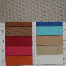 Новые высококачественные кожаные сумки, сумки с узором в горошек, качественная декоративная ткань, кожаный материал для дивана