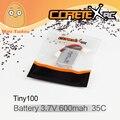 Minitudou CoretexRc Tiny100 Bateria Nova Micro Drone Quadcopter FPV Corrida