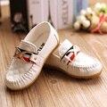 Novas Crianças Sapatos Meninos Bebê Oxford Suave Sola de Couro PU Meninos Meninas Sneakers Miúdo Apartamentos Mocassins Tamanho 21-30 (criança/Little Meninos)
