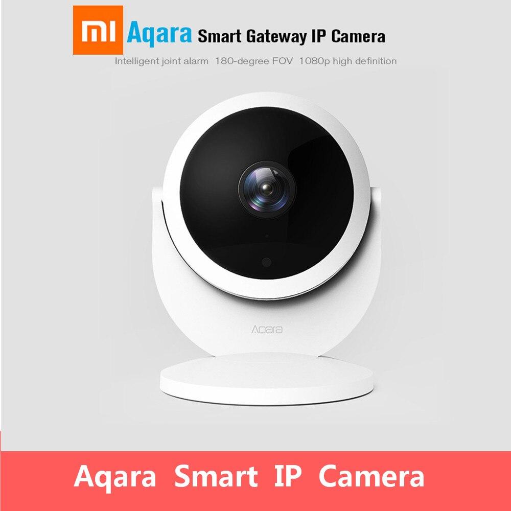 Xiaomi Aqara Smart Security IP Passerelle Caméra Moniteur 1080 p HD Bébé Moniteurs de Couchage Intelligent Commune D'alarme
