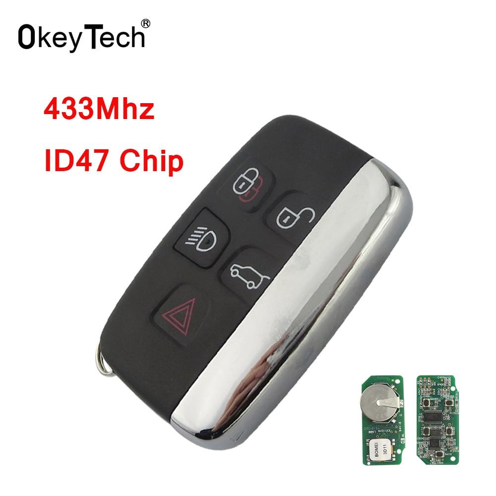 Aliexpress.com : Buy OkeyTech 433Mhz ID47 Chip 5 Buttons