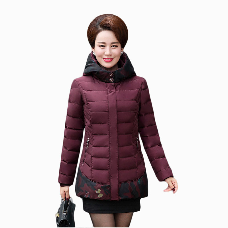 2017 NEW HOT SALE WOMEN WINTER JACKER THICKEN HOODED WARM SLIM FEMALE PARKAS COTTON WADDED COAT HIGH QUALITY ZL665