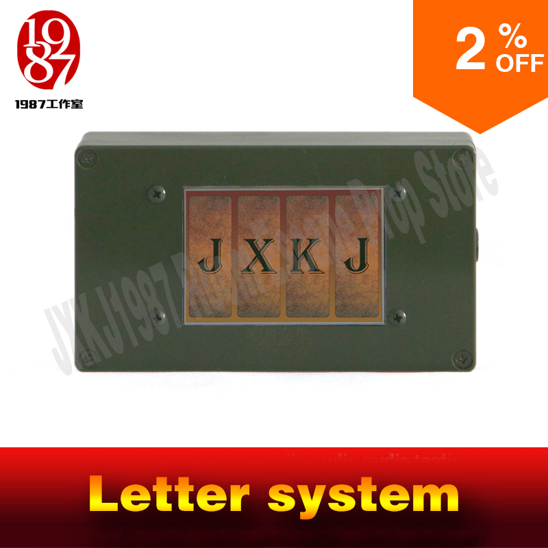 Takagism real life escape room props jxkj1987 letter pad smart screen to open the door  adventurer game party puzzle device real life room escape room keyboard prop input correct password on the keyboard to unlock from jxkj1987 adventure game props
