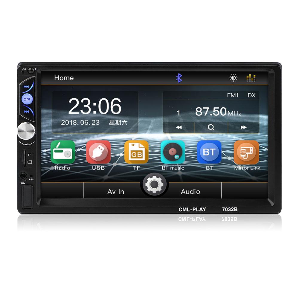 FM/USB/AUX 7032B Auto MP5 Player Car MP5 Player Radio MP5 Automobile Flexible Smart MP5 Player