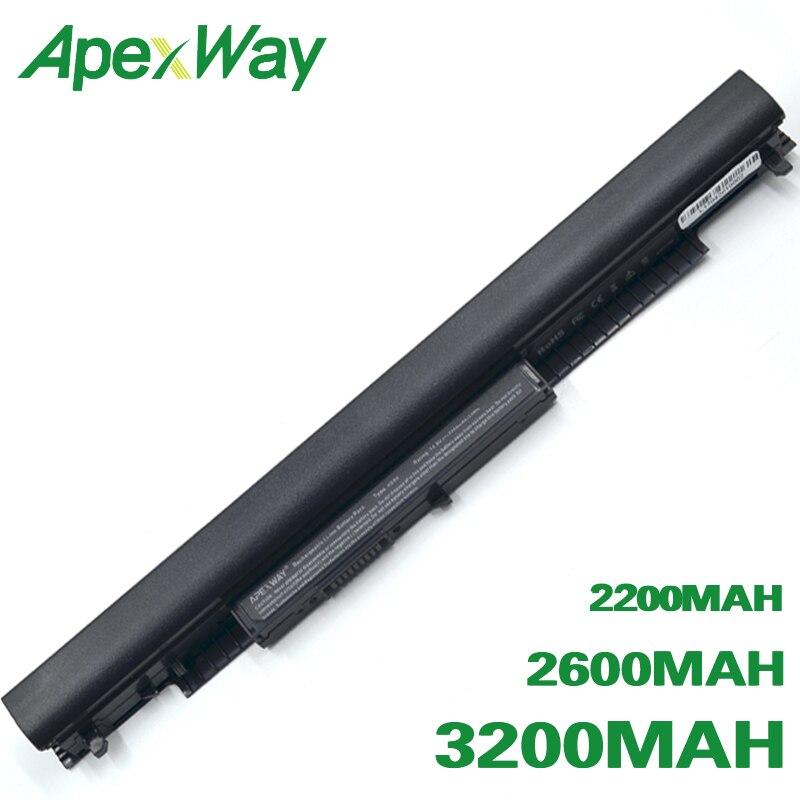ApexWay HS03 HS04  Battery For HP 240 245 250 255 G4 For Pavilion 15-ac0XX 14-ac0XX HSTNN-LB6V STNN-LB6U