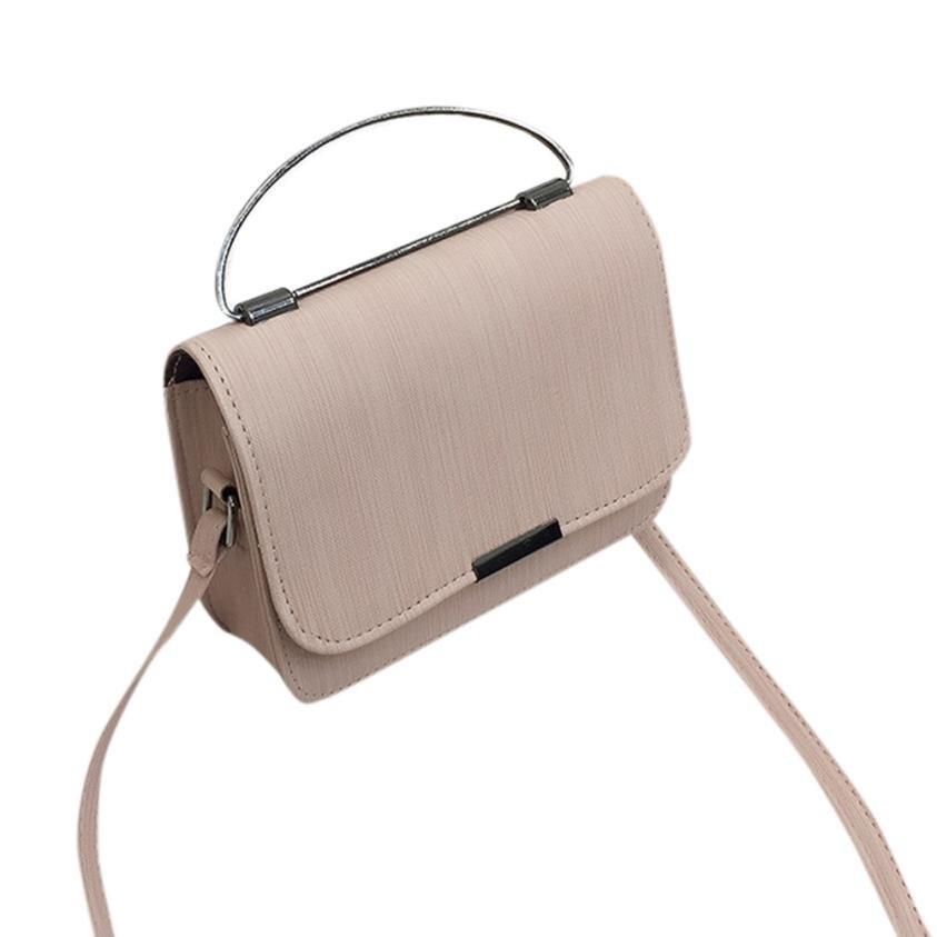 Модные женские Ретро Искусственная кожа дикий сумка небольшая площадь сумка Женская сплошной цвет пряжки сумки сумка # F