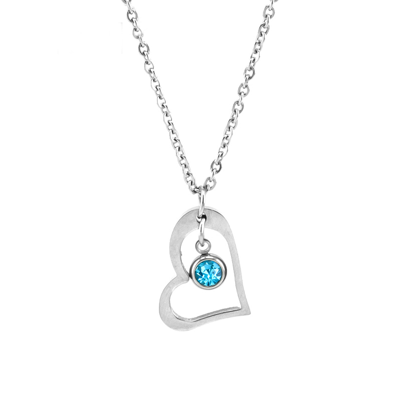 Risul-Female-Jewelry-birth-stone-in-Heart-Charm-Necklace-Rolo-chain-Stainless-steel-best-friend-beautiful (1)