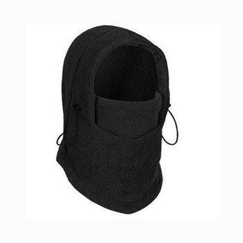 Cycling Face Mask Winter Mask Thermal Fleece Hat Hooded Neck Warmer Sports Face Mask for Men Bike Helmet cap snowboard facemask face mask