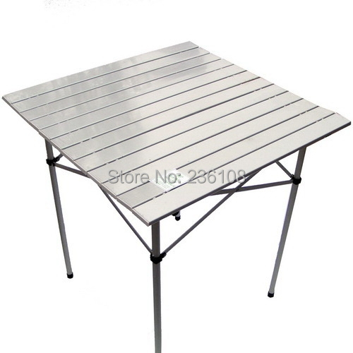 Aluminum Outdoor Table Aluminium Alloy Folding Camping Foldable Metal Grill Camp Picnic Lightweight Portable On