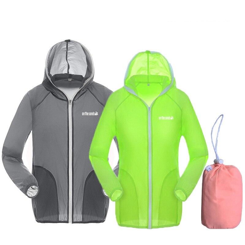Для женщин Для мужчин лето Открытый Спорт Плюс Размеры XS-3XL Треккинг пальто Кемпинг Пеший Туризм Куртка УФ-защита кожи Легкая куртка