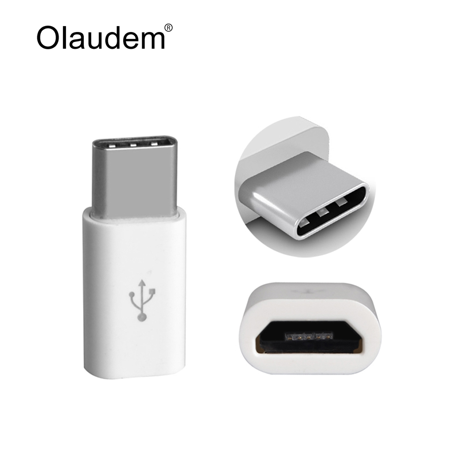 Honey New Portable Mini Usb-c Type-c To Micro Usb Adapter Convert Type-c To Usb 3.1 Connector Adapter With Keychain For Macbook Phones Computer & Office
