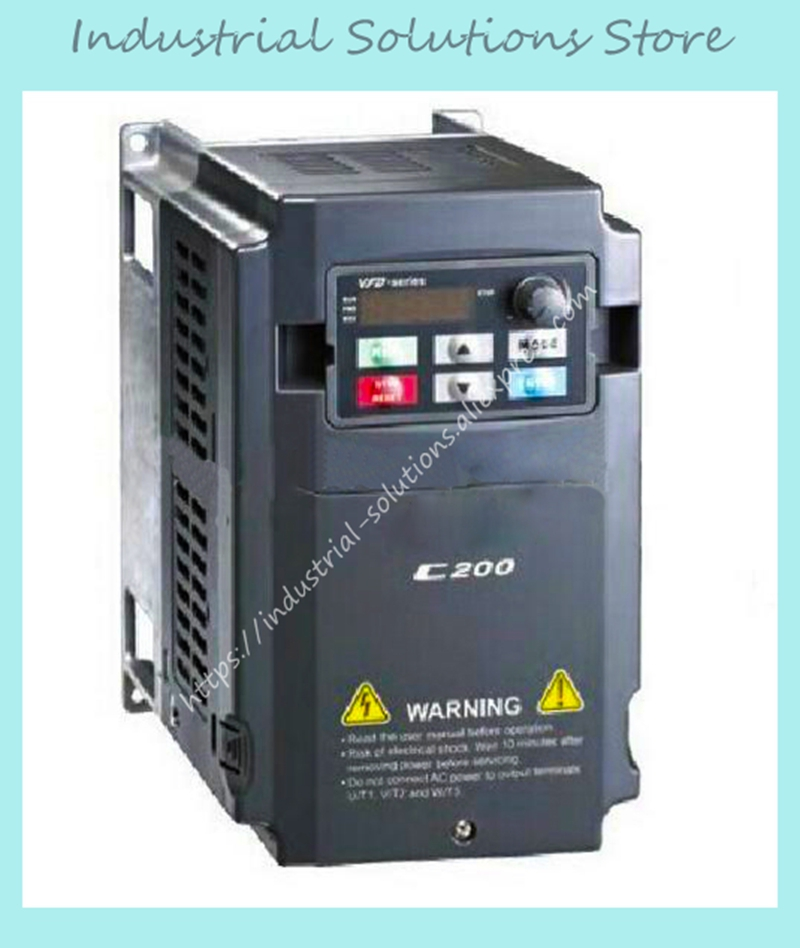 Inverter C200 Series VFD015CB43A-20 3Phase 380V 1.5KW 2HP 0~600Hz New Original пескоструйный аппарат zitrek dsmg 200 015 1209