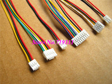 10pcs Micro Min GH 1.25mm 2 3 4 5 6 7 8P Female Housing with Connector