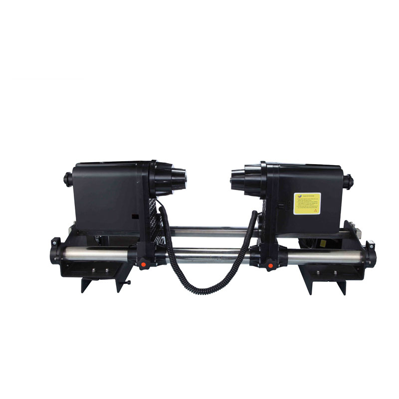printer Take up System  Paper Collector printer paper receiver with double motor  for Roland Mimaki Mutoh plotter printer good quality strong power double motor printer paper take up roller system for roland printer