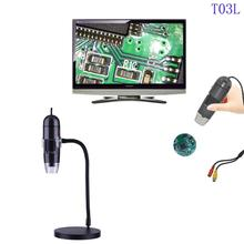 Wholesale 2.0MP 25X-600X HD USB LED Digital Electronic Microscope Endoscope Camera Magnifying Glass Glasses Desk Loupe