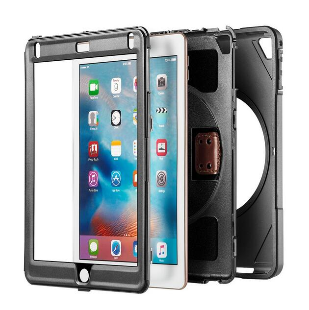 Para Apple Nuevo iPad 9.7 pulgadas 2017 y 2018 Soporte para cinturón - Accesorios para tablets - foto 3