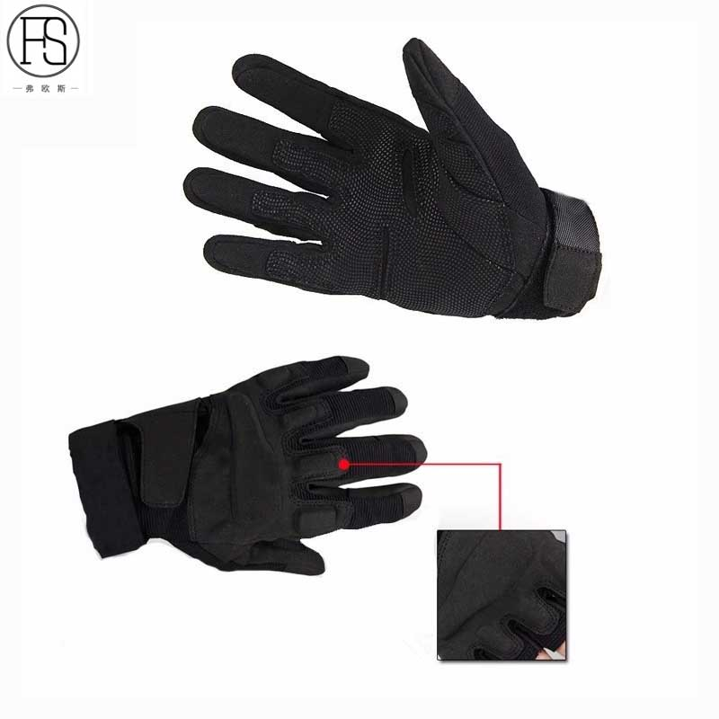 Hot Sale Military Tactical Gloves Outdoor Sport Army Airsoft Full Finger Gloves Combat Motocycle Fitness Cycling Non-slip Gloves