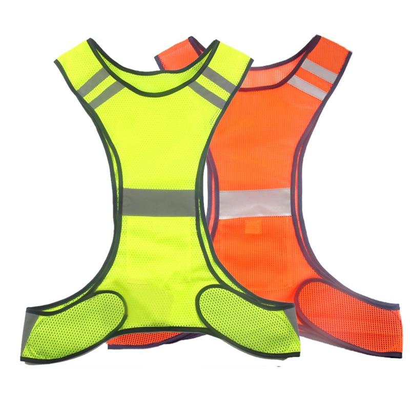 Chaleco reflectante de alta visibilidad para correr Chaleco de malla - Ropa deportiva y accesorios - foto 2