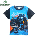 Star Wars T Shirt for Baby Boys Girls Cotton Toddler Kids T-shirts Short Sleeve Child Teenage Summer Costumes Children Clothing