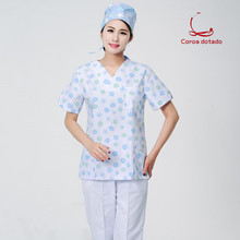 Hand washing clothes men and women brush hand length short sleeve doctor dress cosmetic surgery clothing