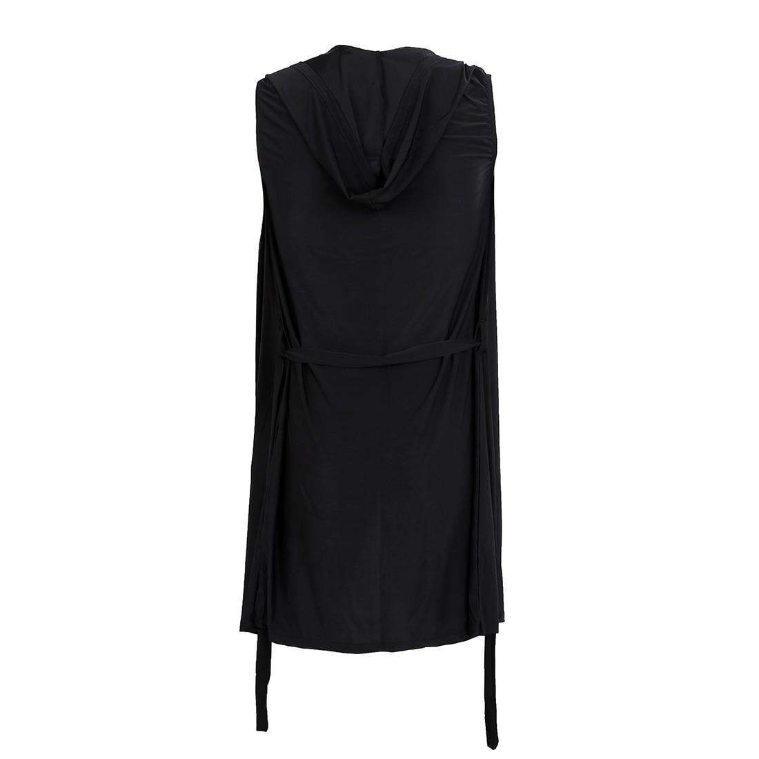 New Sexy Mens Robes Bathrobe Sleepwear Male Kimono Silk Black S