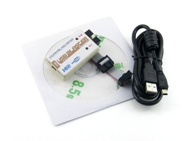 Altera USB Blaster Download Cable ALTERA FPGA CPLD USB Blaster Programmer Debugger for Altera Cyclone & MAX from Waveshare