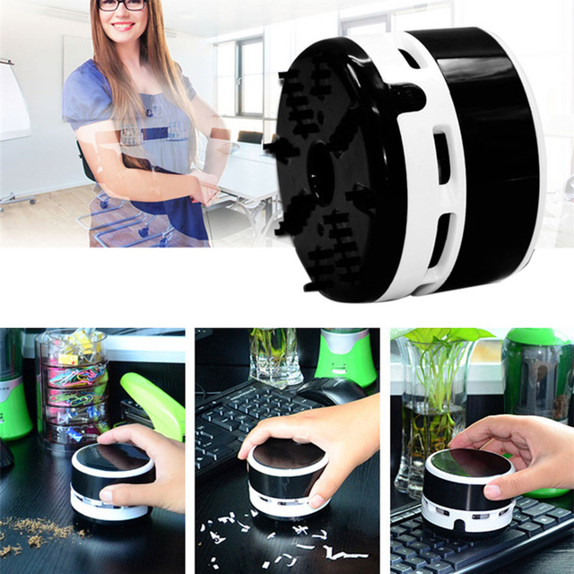 Desktop Keyboard Vacuum Cleaner Dust Sweeper Mini Cordless Table Crumb Collector For Drop Shipping