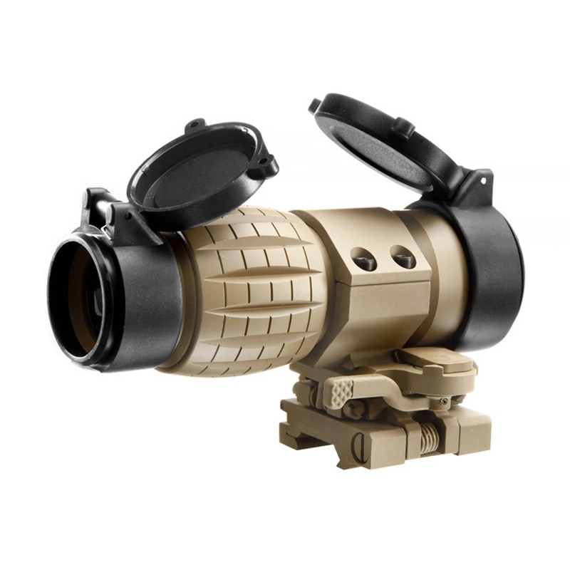 AIM Airsoft 4X Magnifier Scope Tactical Hunting Scopes Optic Sight Rifle Scope Air Gun Holographic Riflescope