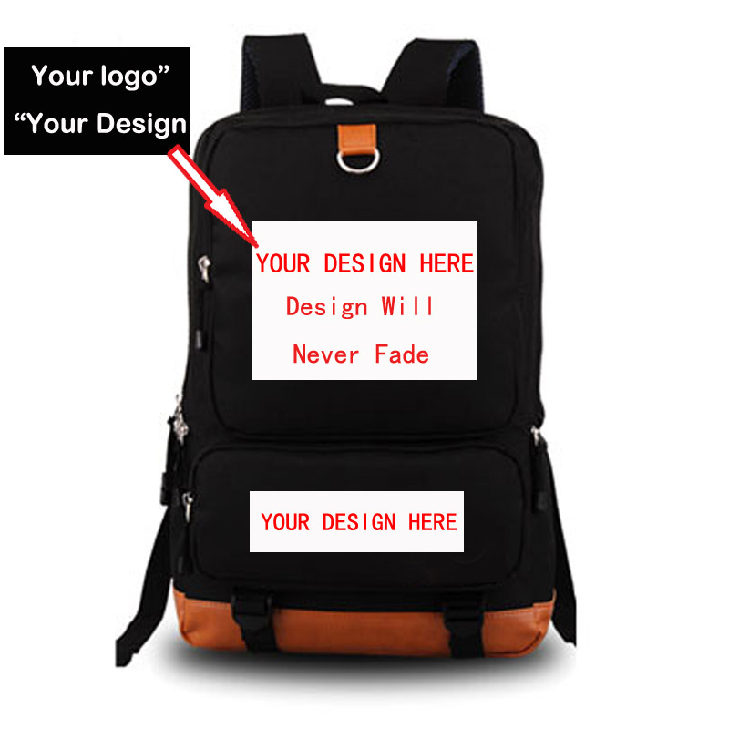 DIY customize logo print promotiona backpack school bag Notebook backpack Daily backpack Creative gift Black Blue Pink Purple цена 2017