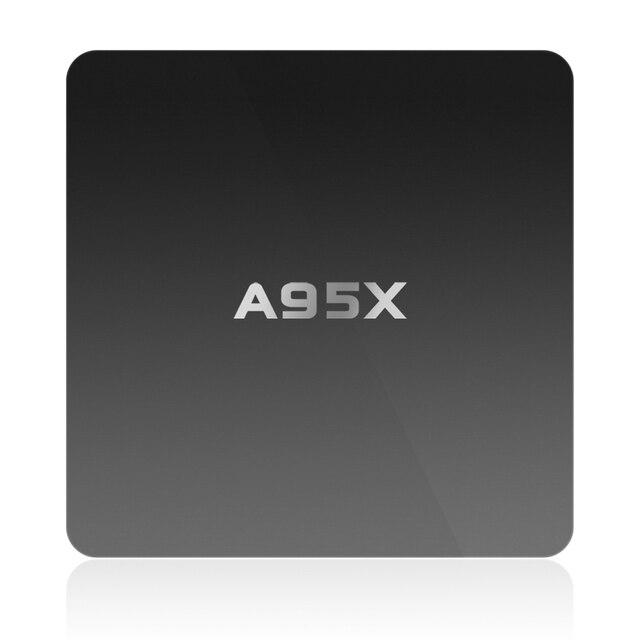 GULEEK A95X Android6.0 TV Box S905X 64 bit Quad-core Frenquency 2.0G 2G RAM 8G ROM 4K WiFi Smart TV Box