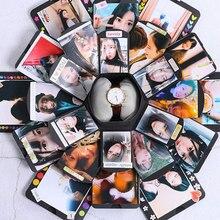Коробка с бомбой, шестигранная многослойная конфета с сюрпризом, сделай сам, альбом для скрапбукинга, фотоальбом, юбилейные подарочные коробки