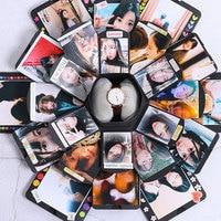 Bom doos zeshoekige multilayer verrassing bekentenis DIY album Scrapbook Fotoalbum Anniversary Gift Dozen