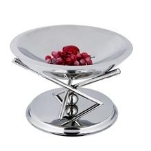 stainless steel fruit dish rack fashion home decoration buffet rack KTV  dish rack dish stand