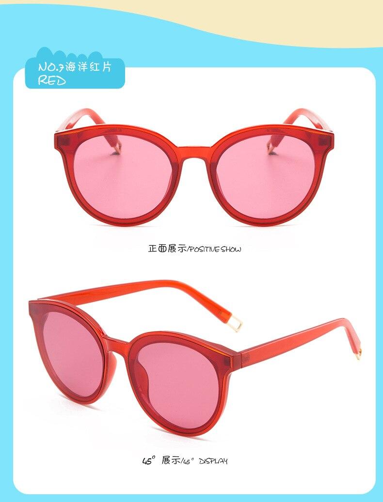 bbd9aae0c عالية الجودة 2018 الاطفال النظارات الشمسية العلامة التجارية الطفل ...