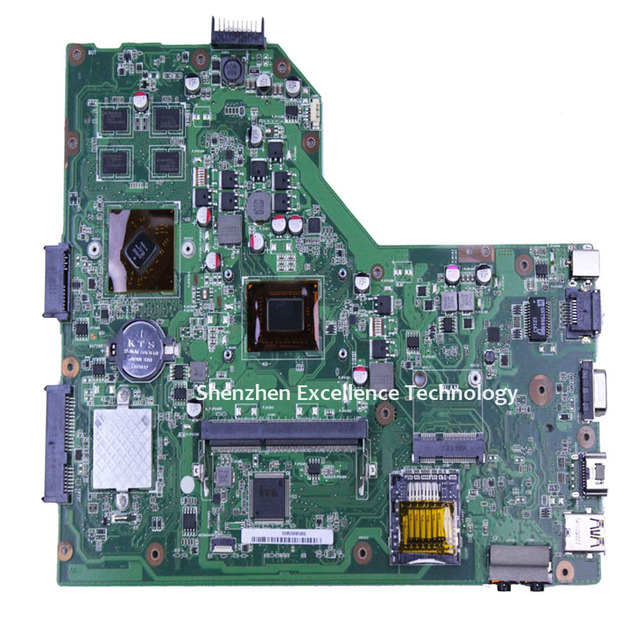 Top quanlity para asus x54h x54hr placa madre del ordenador portátil k54hr rev: 3.0 con i3-2350 i3 cpu hd 74700 mainboard probado completamente