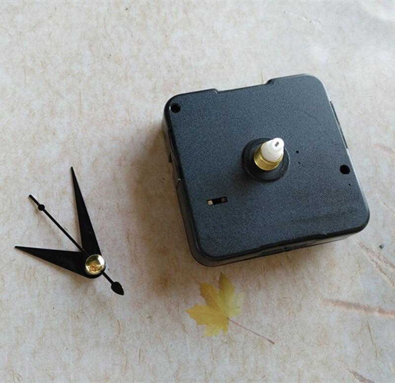 50 piezas de 12 MM Mecanismo de reloj de pared DIY máquina de reloj con piezas de reloj corto-in Partes y accesorios de reloj from Hogar y Mascotas    1