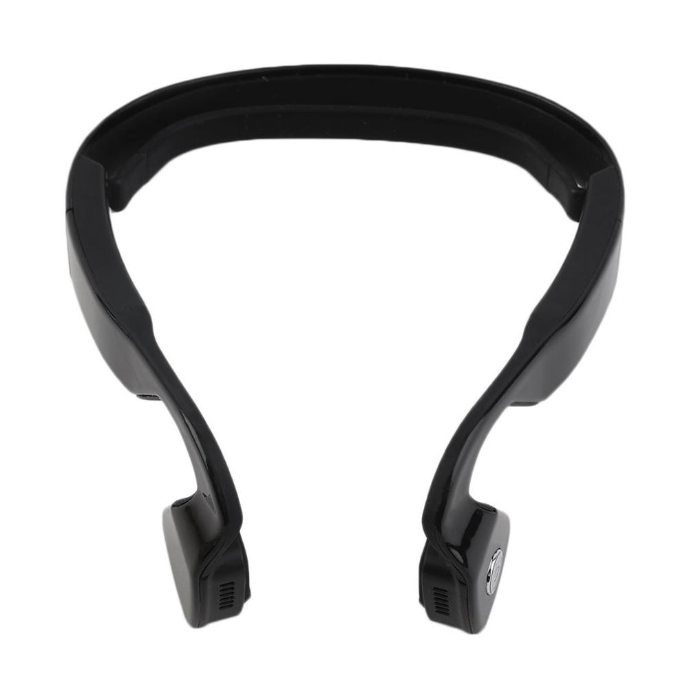 Bone Conduction Headset Wireless Bluetooth 4.1 Earphone Outdoor Sports Headphone Hands-free with Mic Black