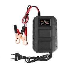 Cargador de batería inteligente para coche y motocicleta, cargador de batería de plomo y ácido 20A