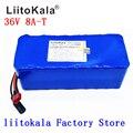 Литиевая батарея LiitoKala 36В 6ач 8ач 10 500 Вт 18650 36В 8ач  батарея для электрического велосипеда с ПВХ чехлом для электрического велосипеда