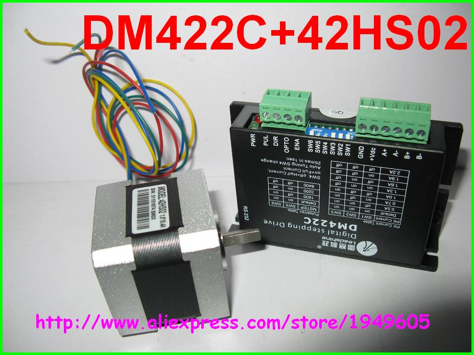 US $55 0 |Leadshine set 2 phase Stepper Driver DM422C+42HS02 0 22N m  Stepper Motor-in Motor Driver from Home Improvement on Aliexpress com |  Alibaba