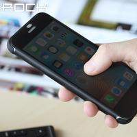 Rock Original Flip Case For IPhone 7 Dr V Series Smart Transparent View Window Case For