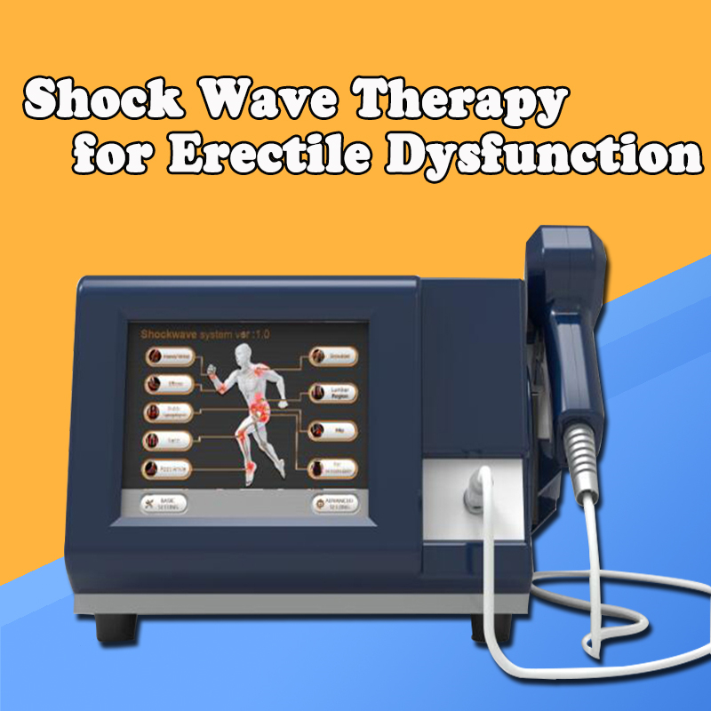 US  Free German Imported Compressor 6 Bar Shots Shock Wave Machine/shockwave Therapy Machine/extracorporeal Shock Wave Equipm