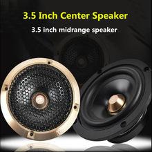 Alto-falante automotivo, 2 peças, amplificador de áudio para carro, 3.5, modo invertido, painel de instrumentos e coluna alto-falante