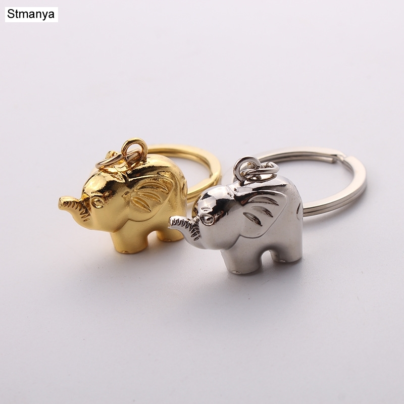 Elephant Keychain-lovely Shape Key Chain  Metal Key Chain New Personality Horseshoe Ring Pendant Key Ring Wholsale #17106