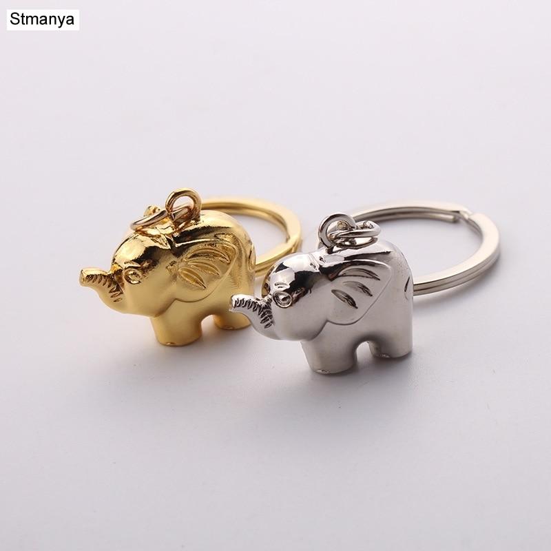 Elephant Keychain-lovely Shape Key Chain  Metal Key Chain New Personality Horseshoe Ring Pendant Key Ring Wholsale #17106