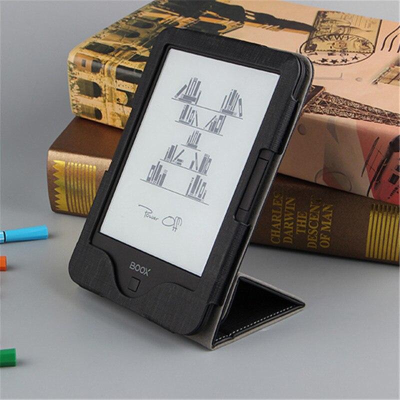 PU Leathe Stand Cover For 6 Inch EBook Onyx Boox Vasco Da Gama 2 Protective Case Funda Capa