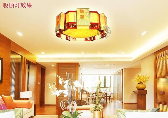 chinees chinese slaapkamer woonkamer plafond lampen lamp gevormde ...