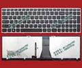 100% nuevo original para lenovo g50 z50 b50 caja de plata negro teclado retroiluminado envío gratis